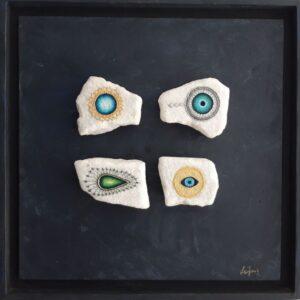 Aelia Gallery | Handmade stone paintings